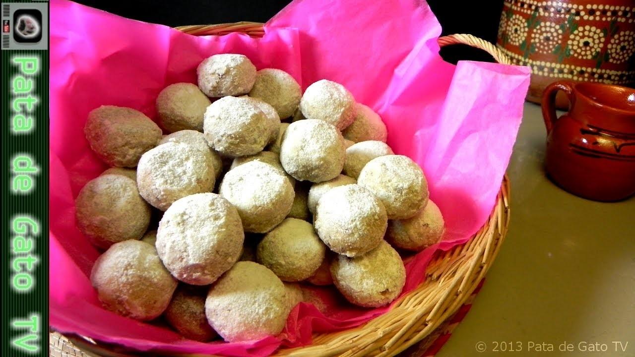 Galletas de nuez. Pecan Cookies