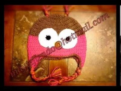 Gorros tejidos a crochet♥