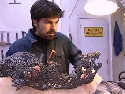Las esculturas de metal de Martí Moreno | Euromaxx
