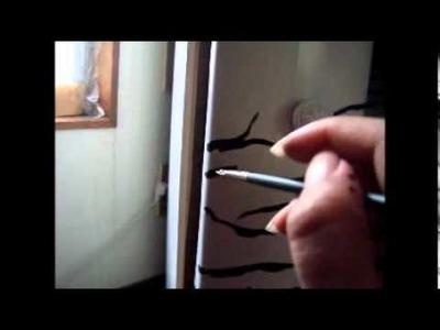 Manualidades: Pintando En Estampado Animal Print De Zebra - JuanCarlos960