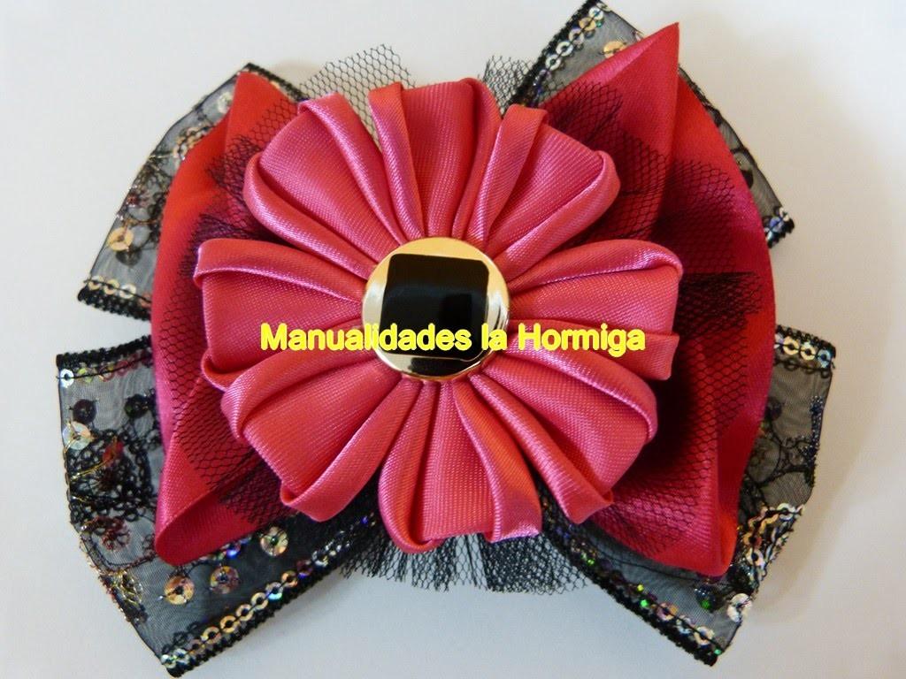 Nuevos modelos de moños faciles en cinta o liston. accessories hair bows
