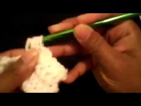 Punto puff -Tutorial de tejido crochet