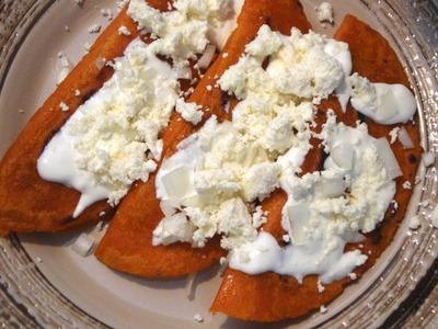 Receta de Enchiladas Potosinas - Comida mexicana - La receta de la abuelita