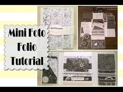 Tutorial Mini Foto Folio