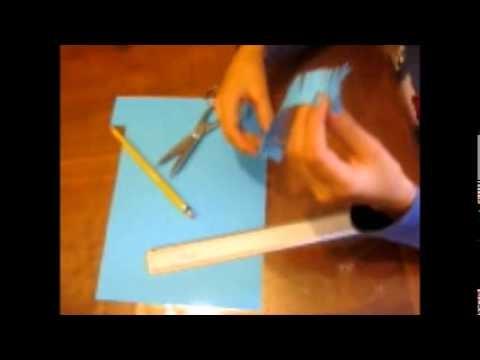 Flor de papel manualidades con papel