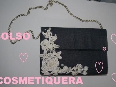 Manualidades: Bolso Cosmetiquera - JuanCarlos960