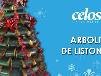 Manualidades y Decoración - Arbolito de Navidad de Listones