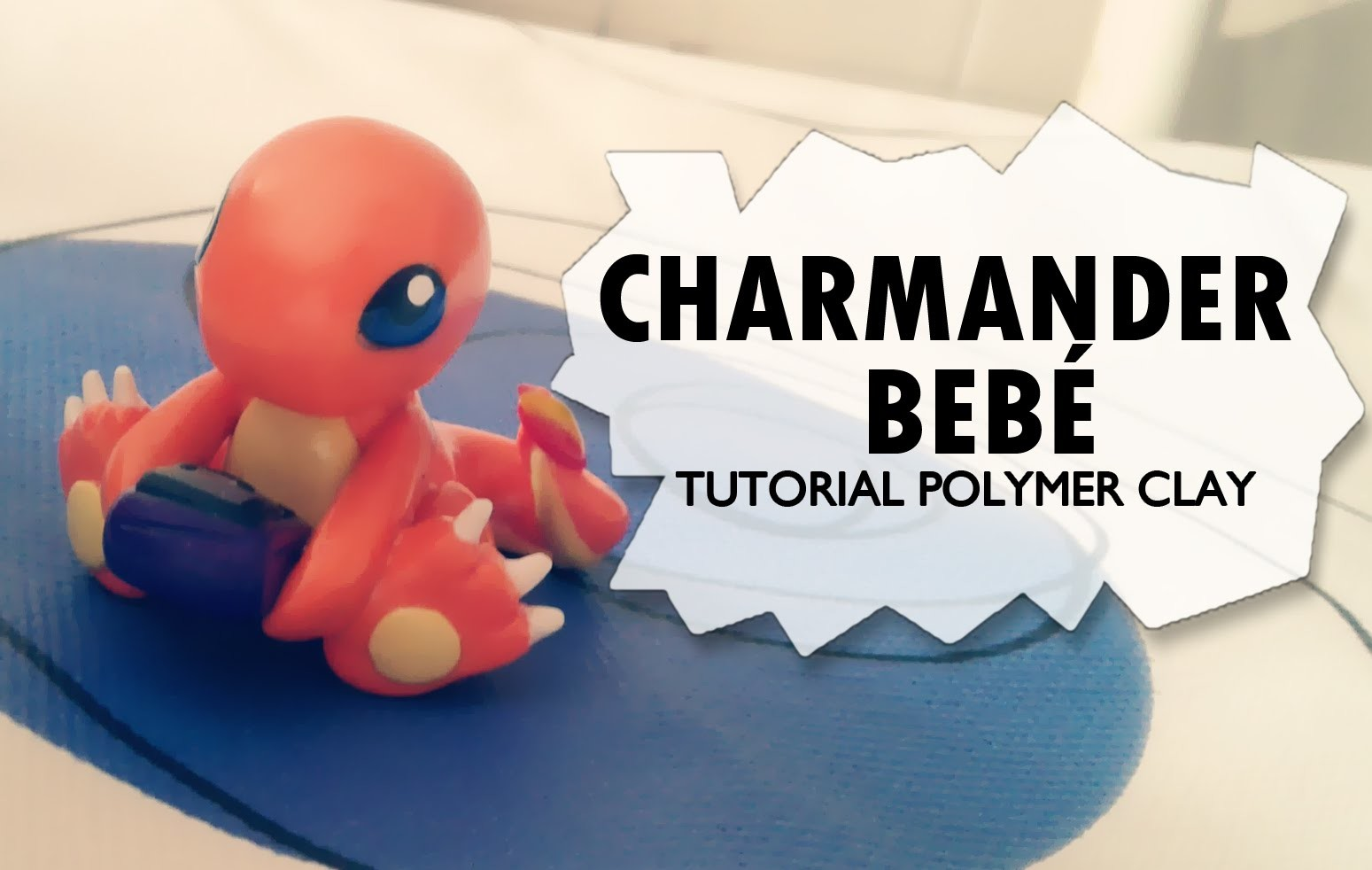 Baby Charmander Polymer Clay Tutorial. Charmander Bebé