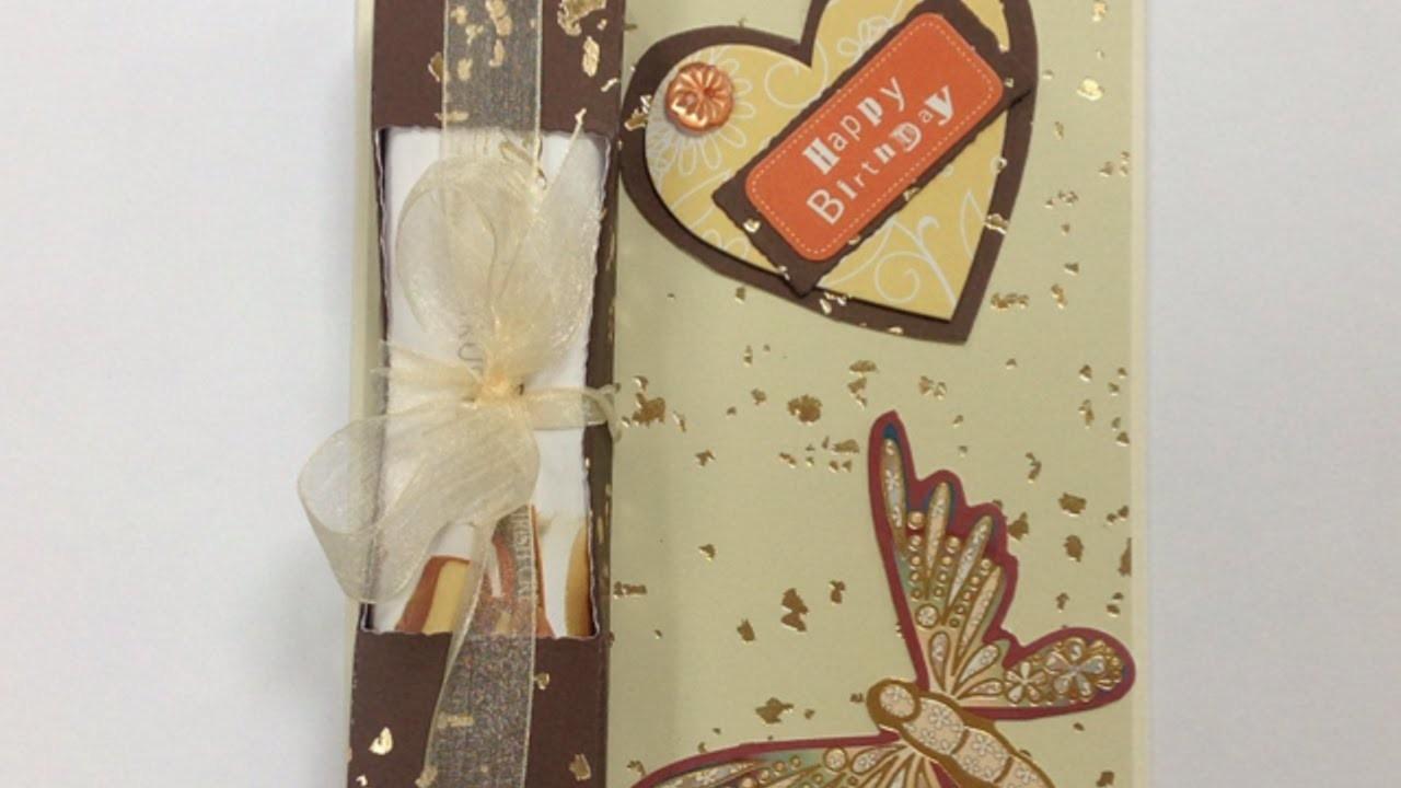 Crea una Tarjeta de Felicitación llena de Chocolate - Hazlo tu Mismo Manualidades - Guidecentral