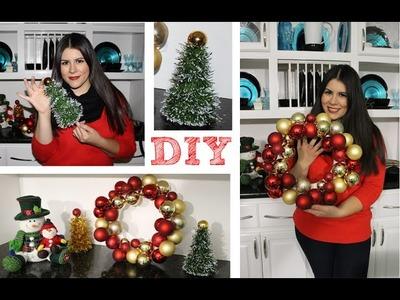 DIY | Decoraciones navideñas fáciles | Karen Rios