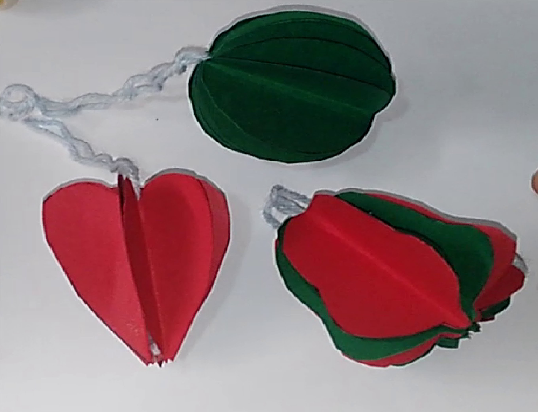 Como hacer esferas campanas corazones navideños tutorial manualidades عيد الميلادNatal Christmas