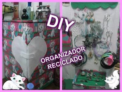 DIY, Manualidades, Organizador reciclado