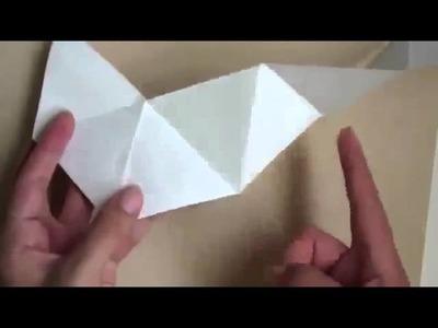 """MANUALIDADES """"carta Hexaflexagon"""" manualidades recicladas"""