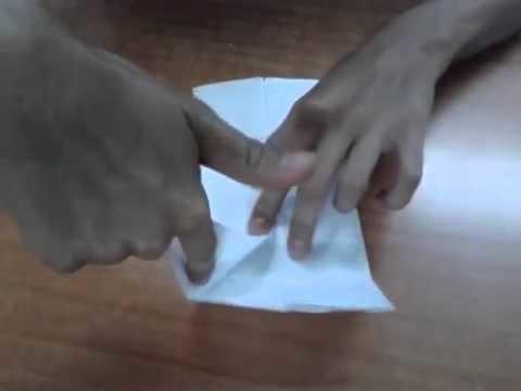 Tutorial de origami: mariposa de papel - Manualidades y origami: cóm hacer una mariposa