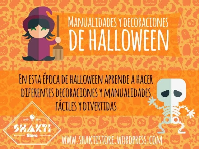 Manualidades y decoraciones de Halloween