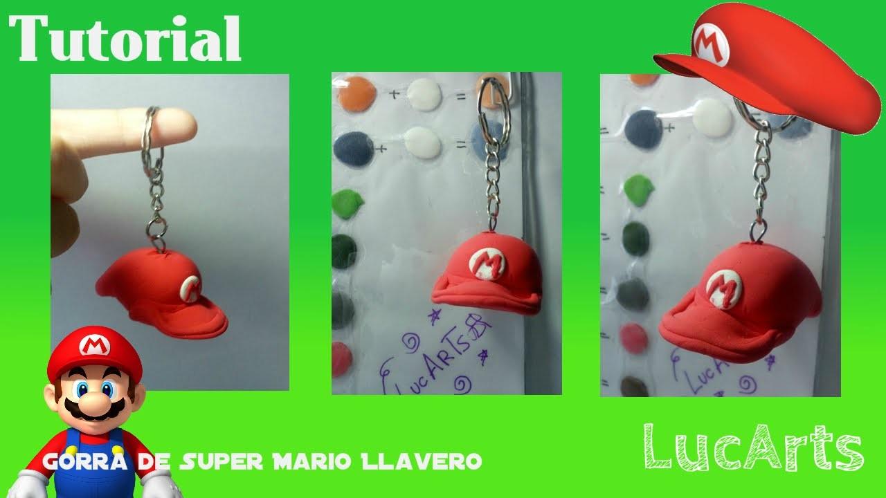Gorra de Super Mario Tutorial con plastilina. Super Mario´s Cap Polymer Clay Tutorial.