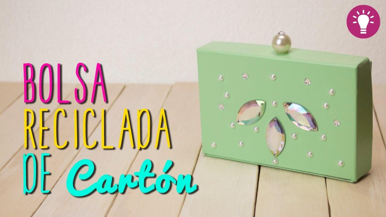 Bolsa de Carton Reciclado - Bolsa de Fiesta de Carton Sin Coser - DIY - Mini Tip#67