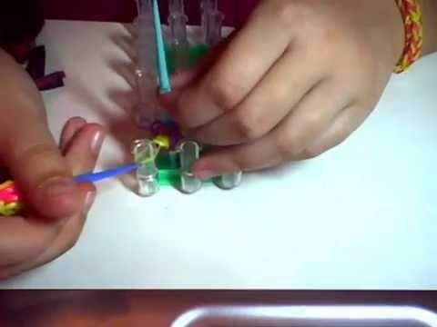 Como hacer una funda para ganchillo de gomitas (con telar)