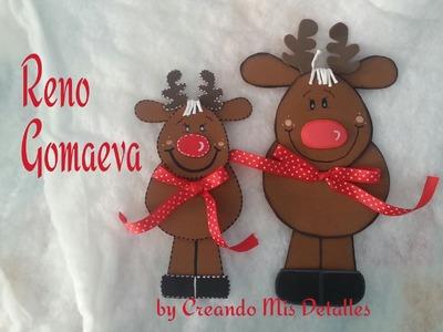 DIY Reno navideño en Gomaeva - Santa claus's Reindeer
