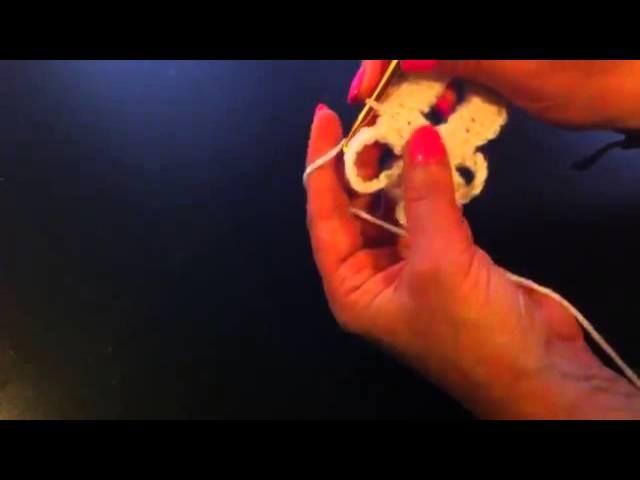 Ganchillo: Cómo hacer una mariposa- hacer una mariposa con ganchillo