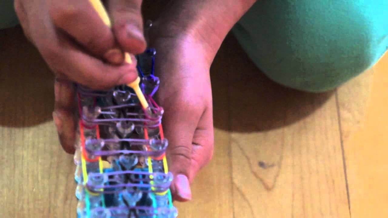 Rainbow Loom- ·Rainbow ladder·