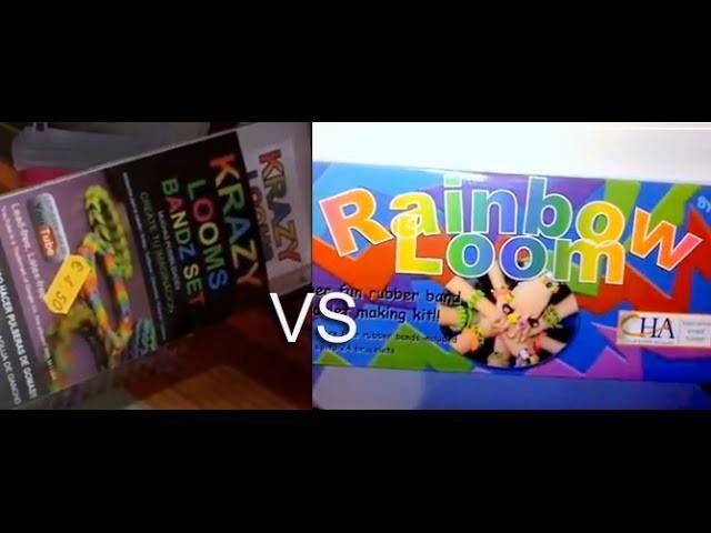 Rainbow loom VS krazy looms