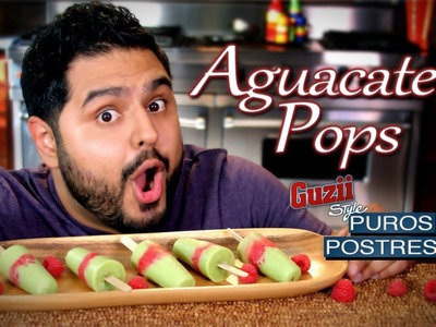 Aguacate Pops - Guzii Style