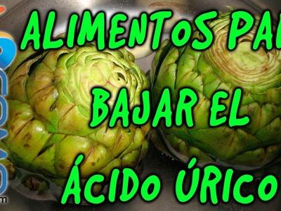 Alimentos para bajar el ácido úrico