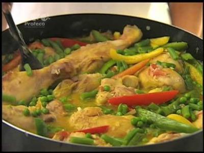 Arroz con pollo a la valenciana [