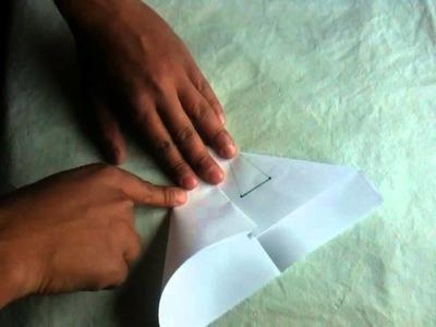 Aviones de papel - Aeroplano de origami