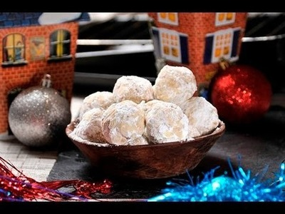 Bolitas de nuez con mantequilla - Walnut Balls with Butter
