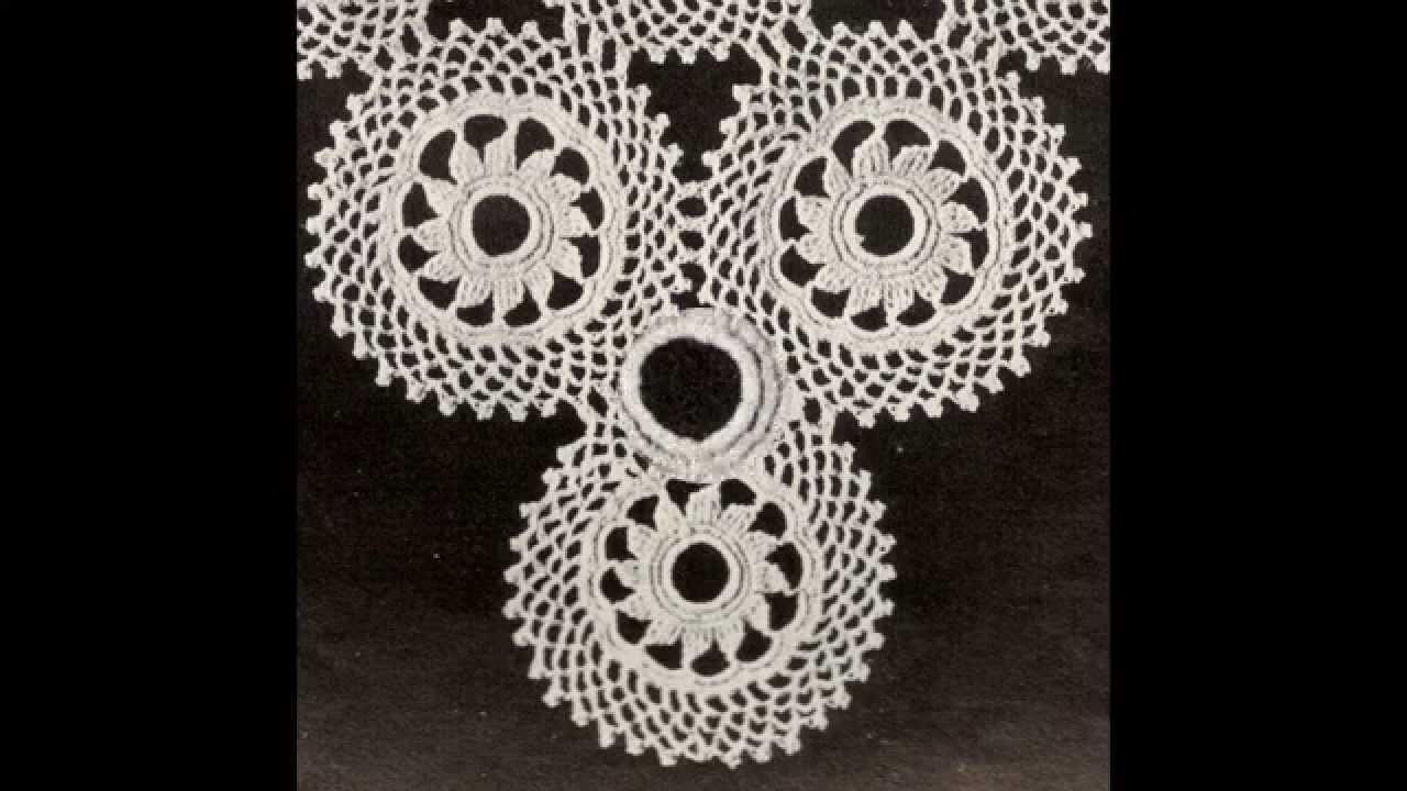 Carpeta circulo a Crochet