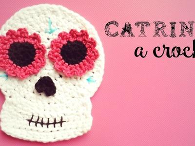 Catrina (calavera mexicana) a Crochet - DÍA DE LOS MUERTOS | How to crochet a mexican skull