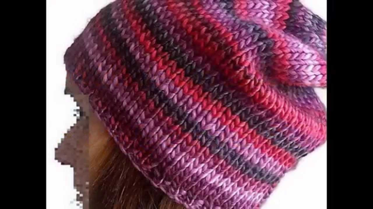 Colección de gorros de crochet y calceta de Trenda Lerenda a la venta en Etsy.
