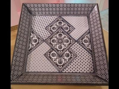 Como hacer contracolado artístico con láminas en blanco y negro