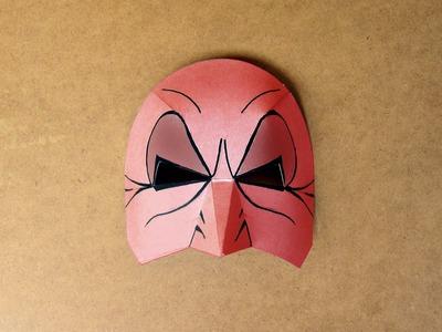 Como hacer de una máscara de cartulina. Educación Plástica