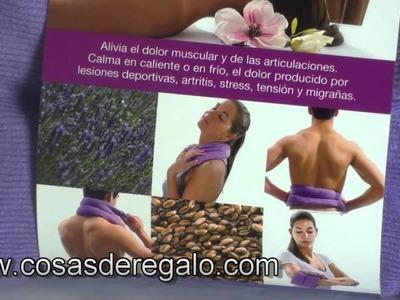 Demo Almohadilla Bodywrap De Color Morado