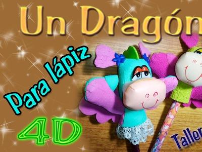 Dragón para Lapíz. Fomi 4d