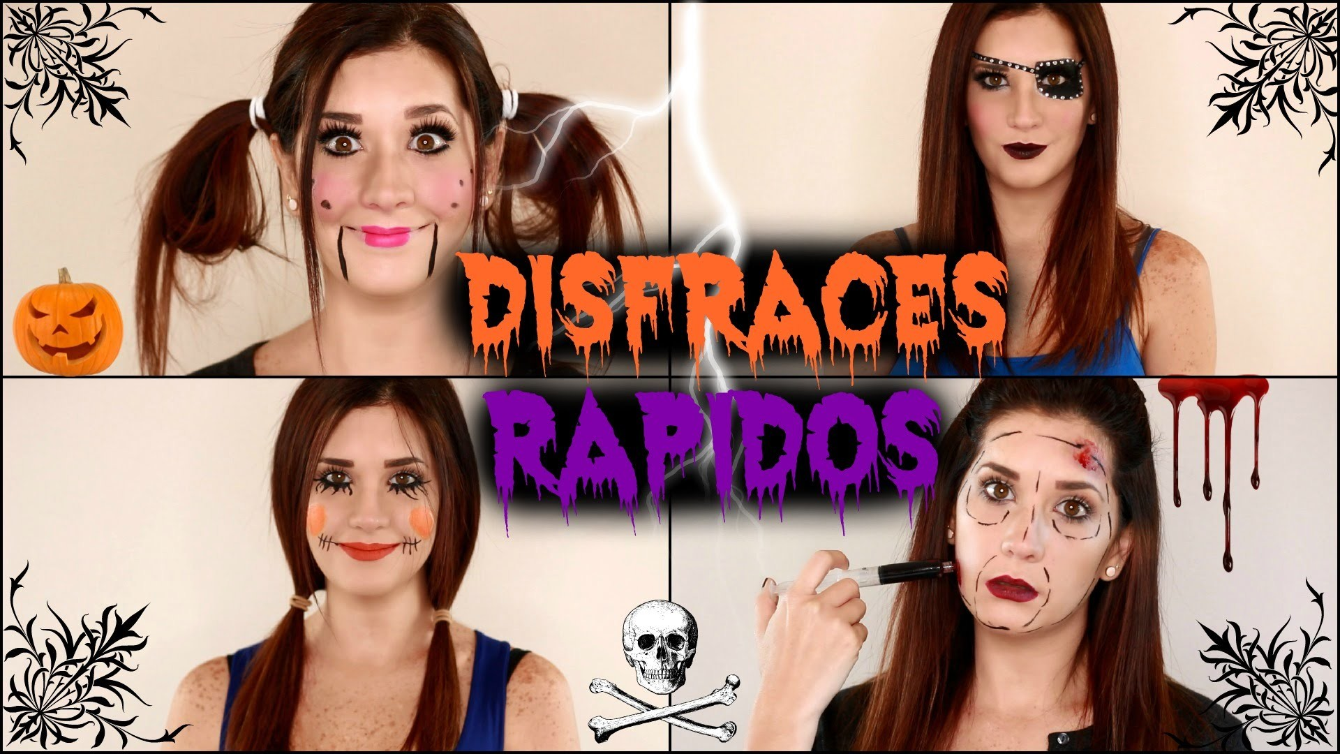 IDEAS DIY DE DISFRACES PARA HALLOWEEN