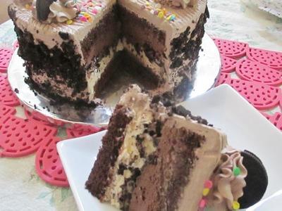 Pastel De Helado.Nieve Muy Fácil De Hacer - Madelin's Cakes