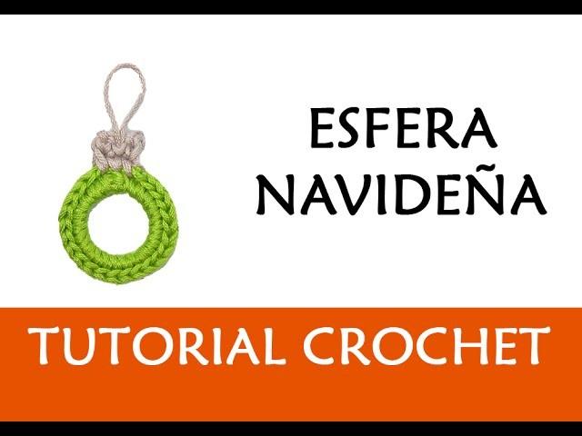 PATRÓN CROCHET: ESFERA NAVIDEÑA (DIY) | Patrones Valhalla