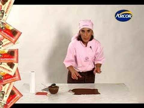 Técnica: Hilos de Chocolate