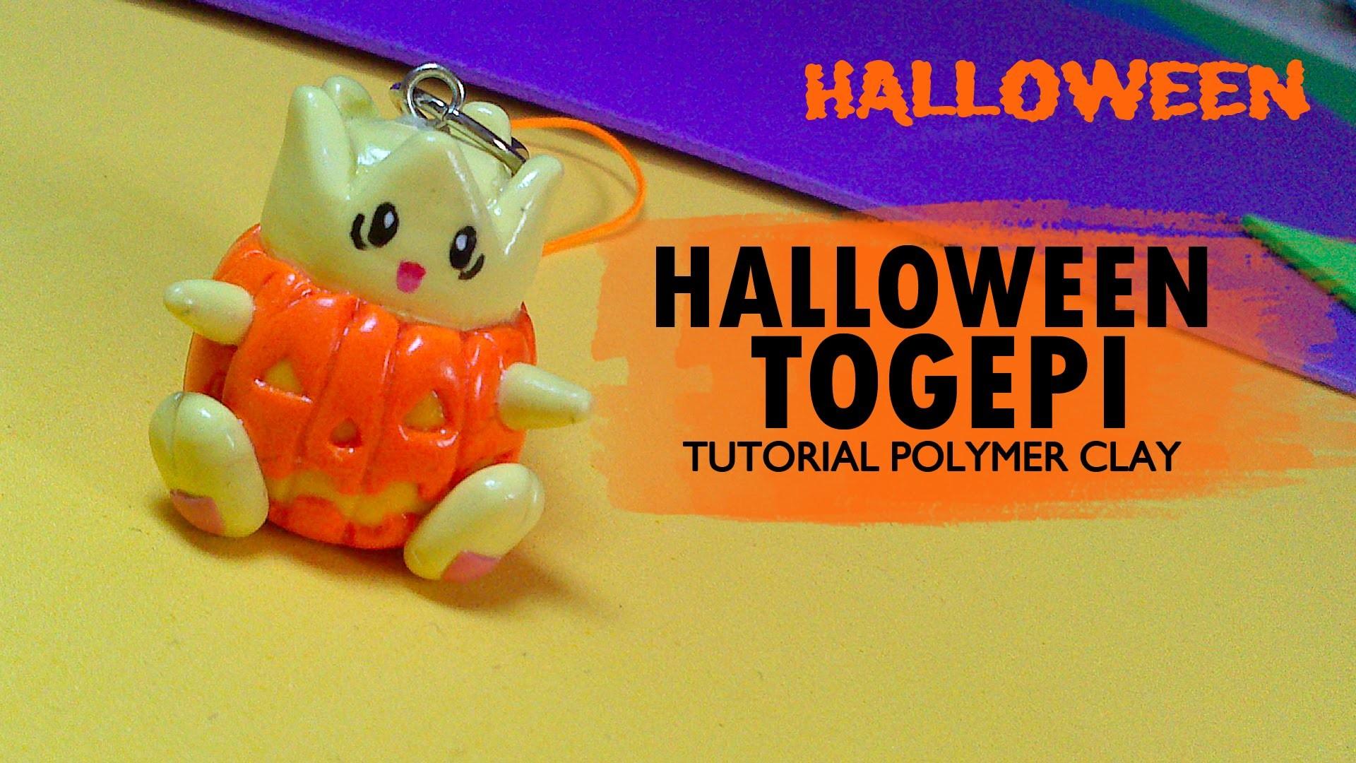 Halloween Togepi Polymer Clay Tutorial. Arcilla polimérica