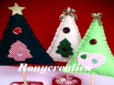 ARBOL DE NAVIDAD - DULCERO. CHRISTMAS TREE CRAFT TUTORIAL DIY