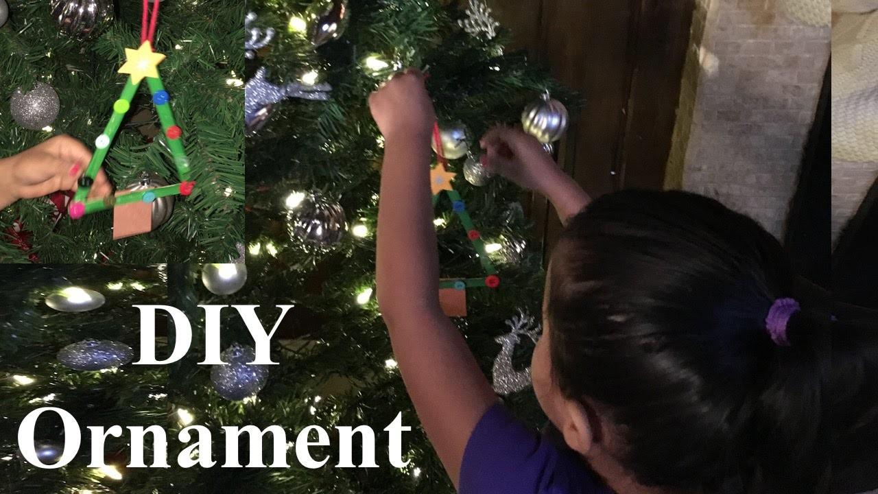 DIY Christmas Tree Ornament  Decoracion de Arbol de Navidad
