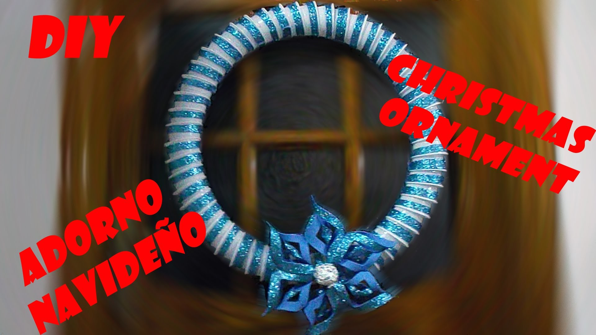 DIY: CORONA NAVIDEÑA  CHRISTMAS WREATH