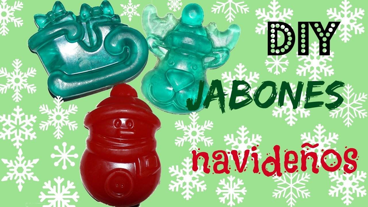 DIY JABONES DECORATIVOS❄ DIY CHRISTMAS SOAP ( ideas para regalar )