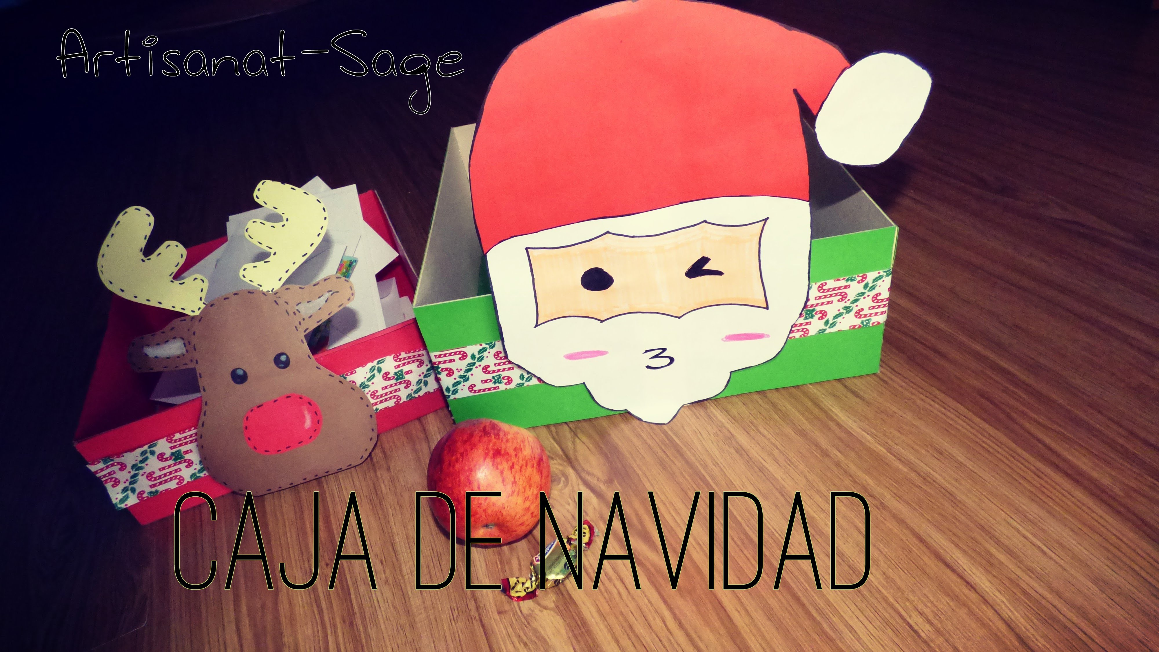 Caja De Navidad [Multiusos] DIY Merry christmas
