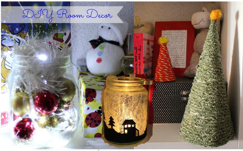 Christmas Holiday DIY Room Decor