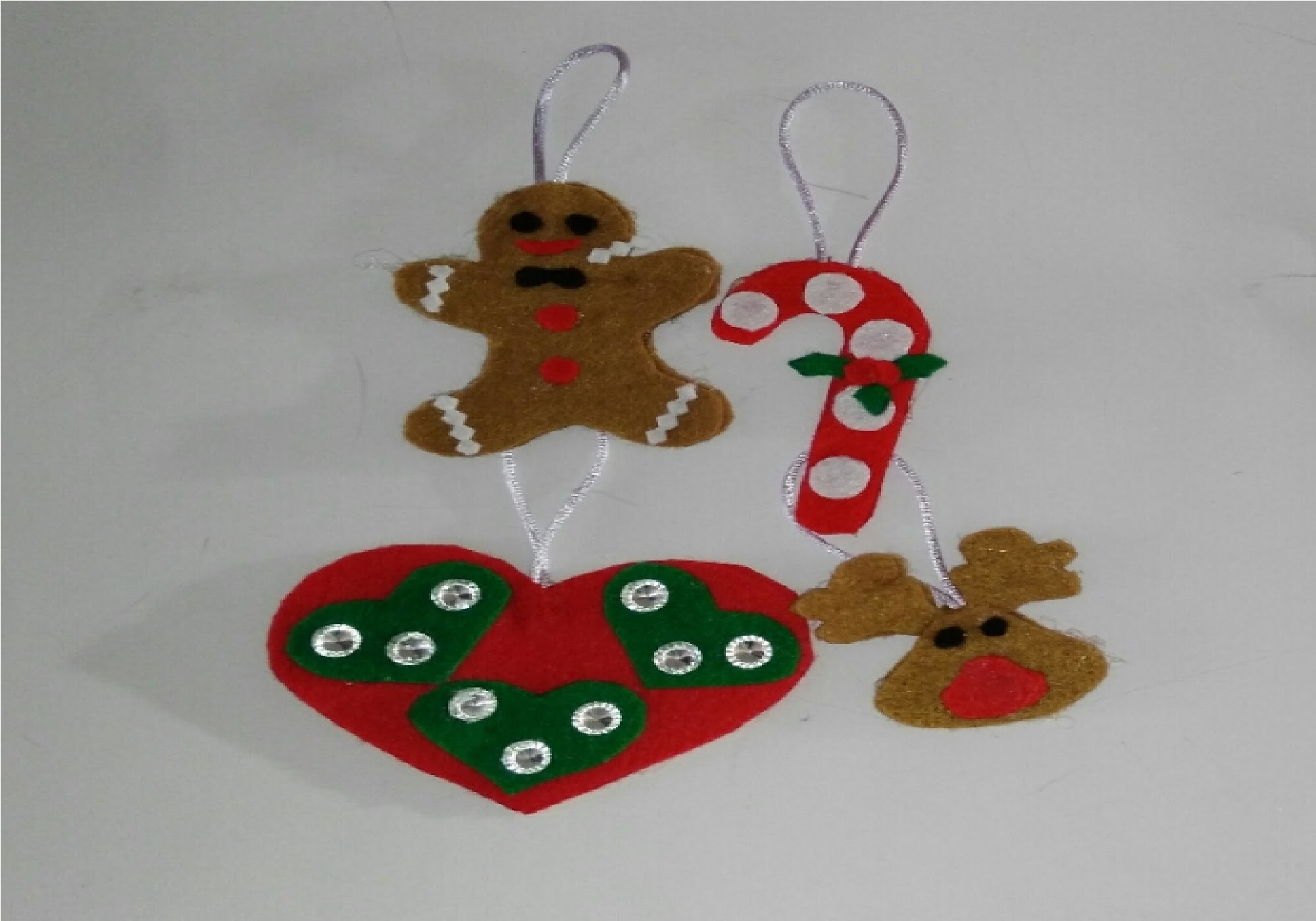 Como hacer adornos navideños para el arbol de navidad manualidades tutorial DIY